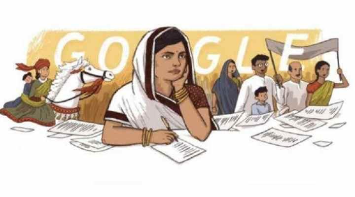 Google Honours India's First Woman Satyagrahi, Subhadra Kumari Chauhan, With A Doodle