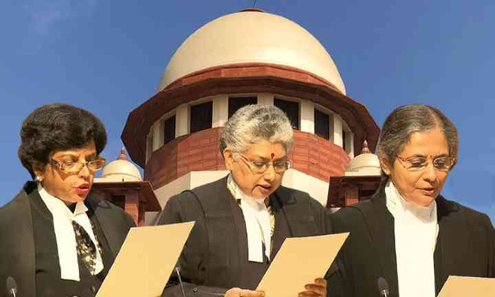 Historic Moment As 3 Women Take Oath As Supreme Court Judges
