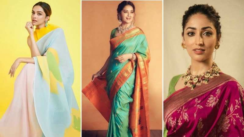 From Madhuri Dixit, Deepika Padukone to Yami Gautam: Celeb inspired dress ideas for Ganesh Chaturthi