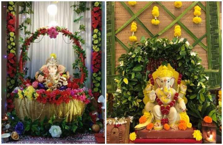 Ganesh Chaturthi 2021 – Ganpati Decoration Ideas At Home