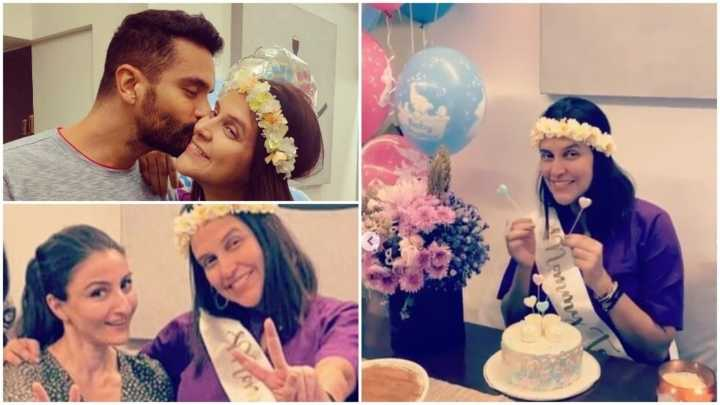 Neha Dhupia got a surprise baby shower: Check out the pics