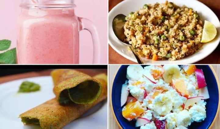 Easy Breakfast Healthy Recipes Ideas