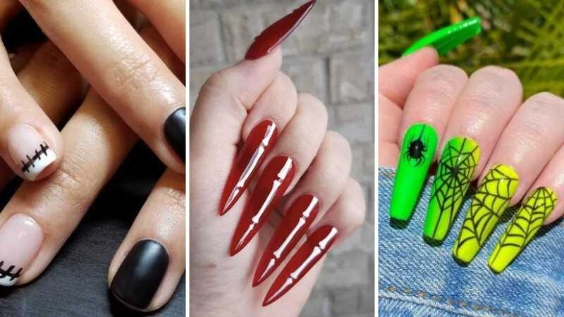 20+ Spooky Halloween Nail Art Design Ideas for 2021