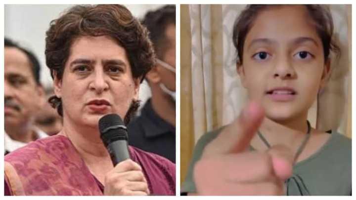 Priyanka Gandhi shares video of little girl's powerful message on women power. Watch