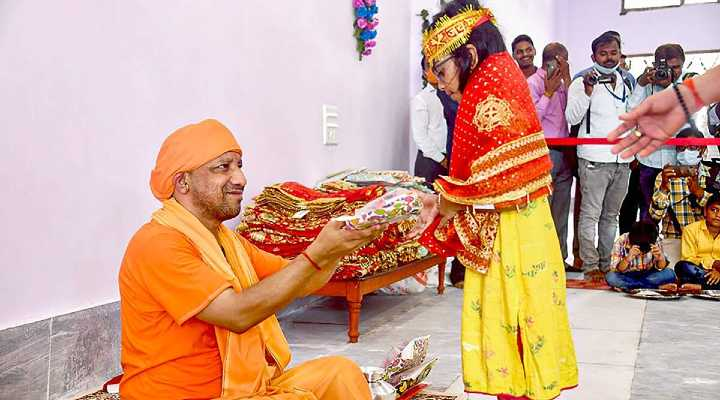 UP CM Yogi Adityanath Says Crimes Against Women Can Be Stopped By Viewing Them As 'Goddess'
